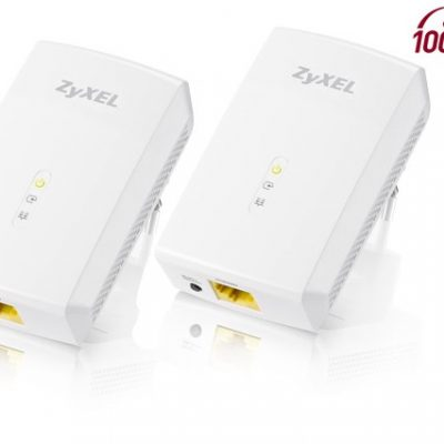 ZyXEL PLA5206 Twin Pack 1000Mbps Powerline